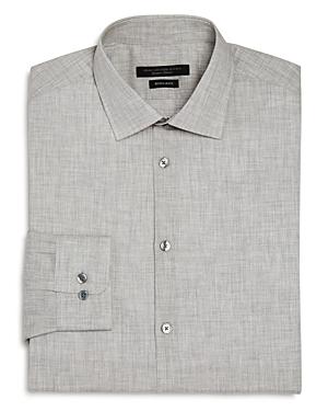 John Varvatos Star Usa Melange Regular Fit Dress Shirt-Men