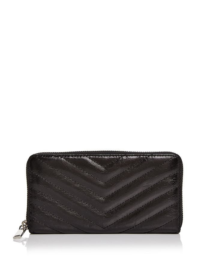 Rebecca Minkoff - Edie Quilted Leather Wallet