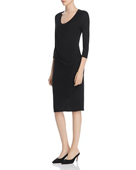 Majestic Filatures - Ruched Knit Dress