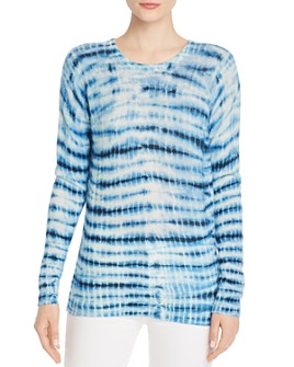 C by Bloomingdale's - Tie-Dye Cashmere Sweater - 100% Exclusive