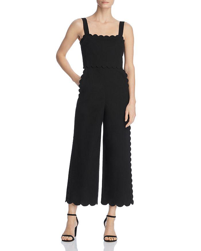 ff9d53257023 Rebecca Taylor - Scallop-Edged Jumpsuit