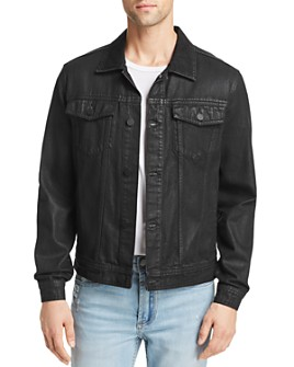 BLANKNYC - Coated Denim Trucker Jacket