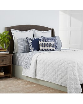 John Robshaw - Lila White Coverlets - 100% Exclusive