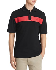 Fred Perry - Stripe-Front Paneled Piqué Classic Fit Polo Shirt