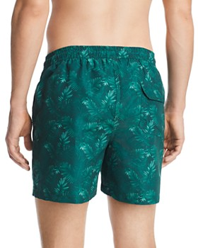 Barbour - Tropical-Print Swim Shorts