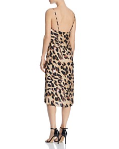 Cotton Candy LA - Leopard-Print Slip Dress