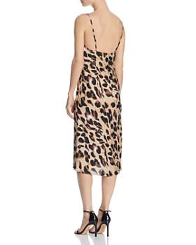 Cotton Candy LA - Leopard-Print Slip Dress