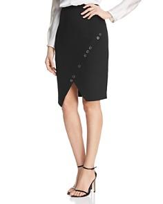 Donna Karan - Grommet Trim Pencil Skirt