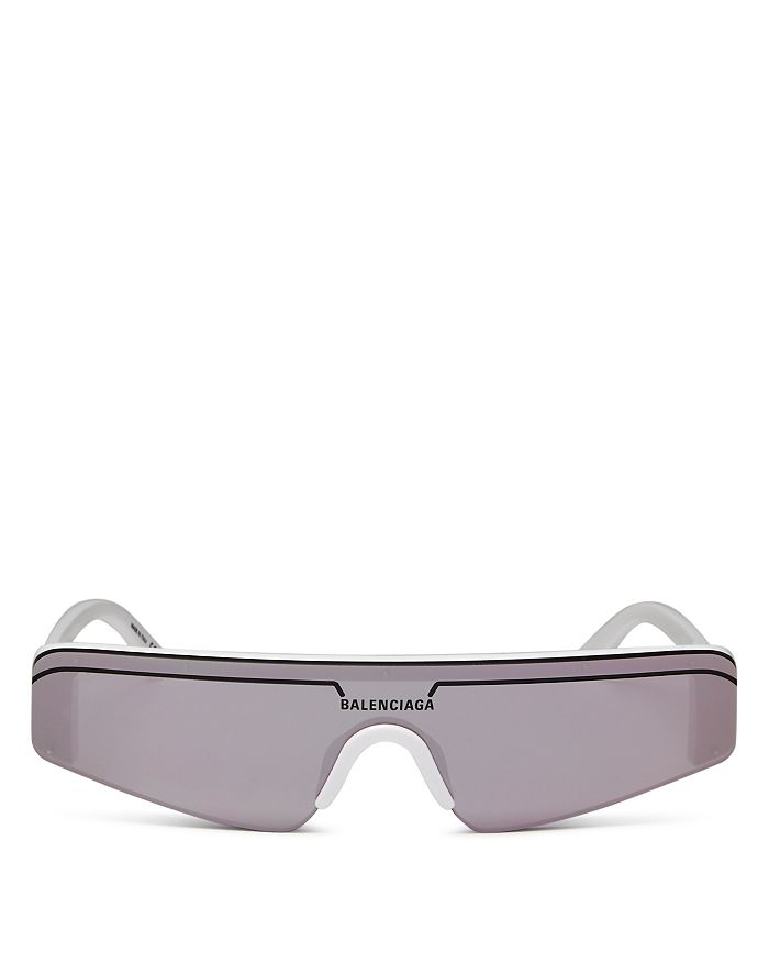 edc3db5b74 Balenciaga - Women s Rectangular Shield Sunglasses