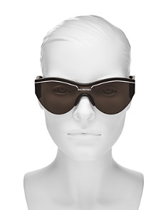 Balenciaga - Women's Cat Eye Shield Sunglasses, 99mm