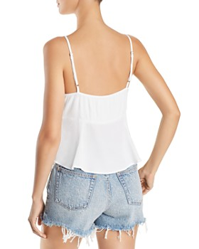 Show Me Your MuMu - Tie-Front Camisole Top