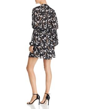 Acler - Zammit Draped Floral Print Dress
