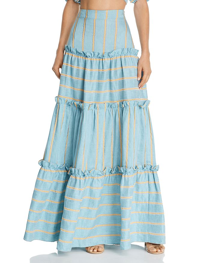 Paper London - Coquillage Maxi Skirt