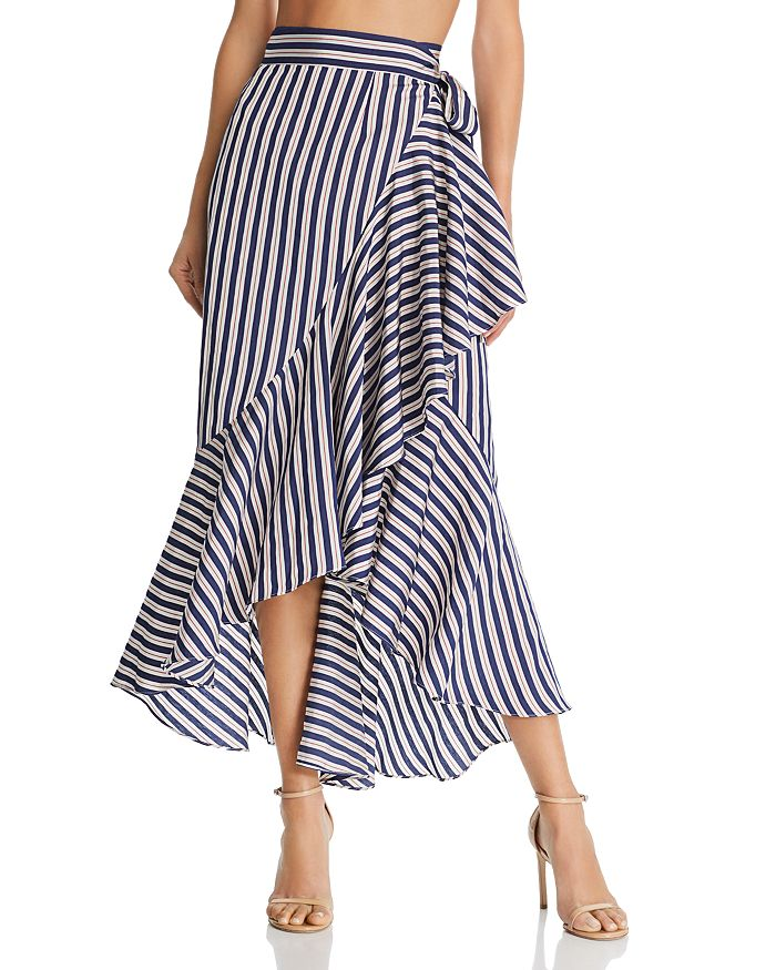 Paper London - Lagos Ruffled Wrap Skirt