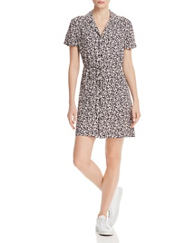 24bc9ba03 FRENCH CONNECTION - Aubi Ditsy Crepe Printed Mini Dress ...