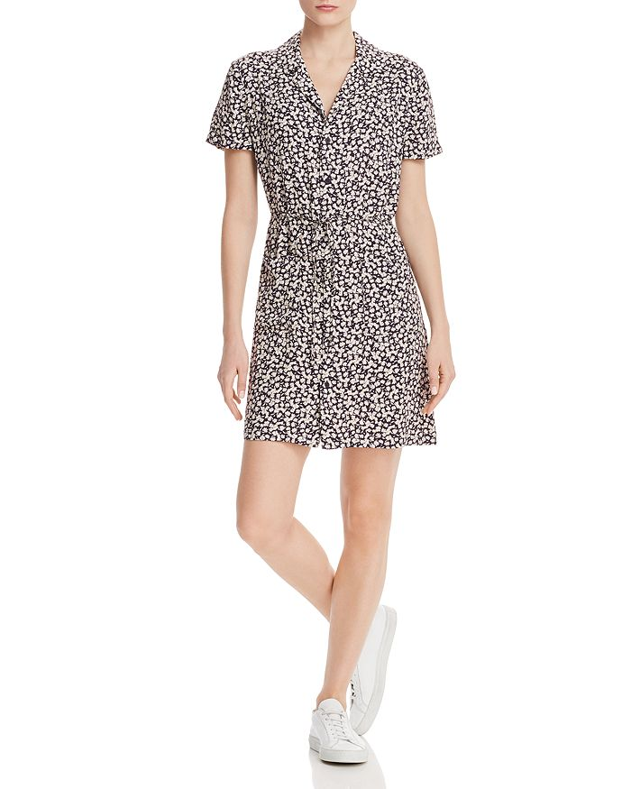 8b815f9ee6 FRENCH CONNECTION - Aubi Ditsy Crepe Printed Mini Dress