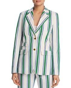 Tory Burch - Awning-Stripe Blazer