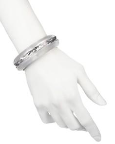 Alexis Bittar - Crumpled Inlay Hinge Bracelet
