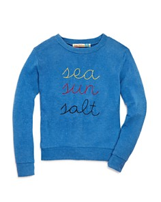 Vintage Havana - Girls' Sea Sun Salt Sweatshirt - Big Kid