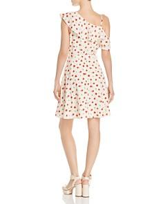 AQUA - One-Shoulder Floral-Print Dress - 100% Exclusive