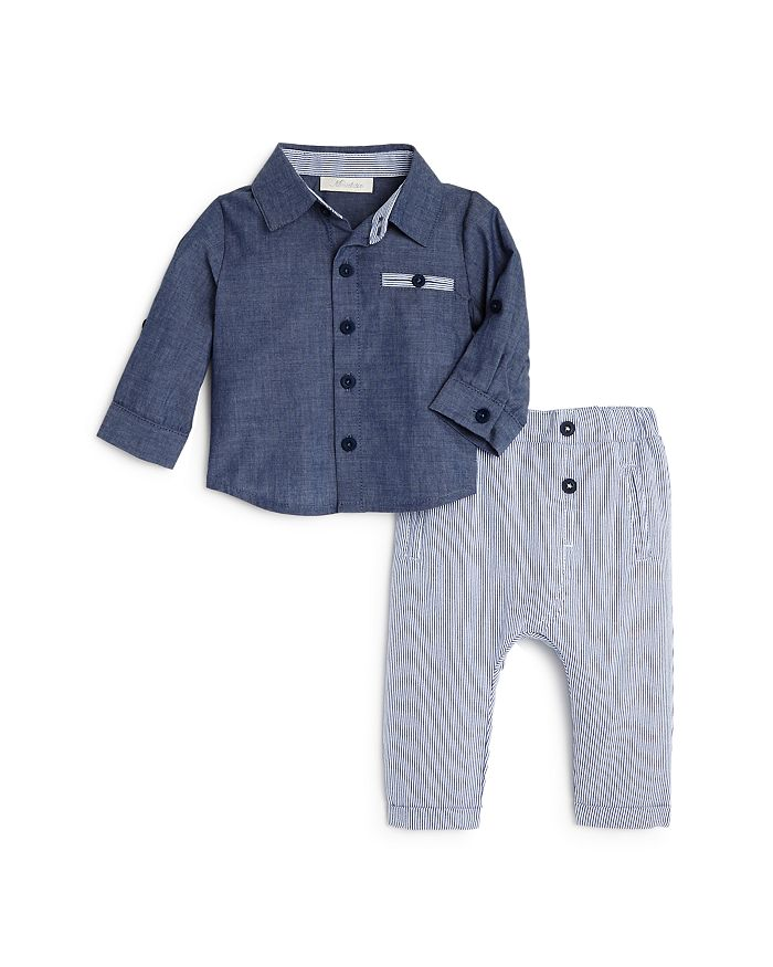 d45ed16d9 Miniclasix Boys' Sport Shirt & Leggings Set - Baby | Bloomingdale's