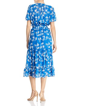 Shoshanna - Villa Floral Flutter Midi Dress - 100% Exclusive