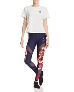 PUMA - PUMA Flourish Jacket, Tee & Leggings