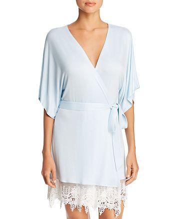 Splendid - Bridal Lace-Trim Robe