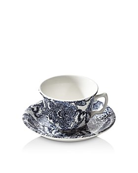 Ralph Lauren - Burleigh Faded Peony Tea Cup & Saucer Set