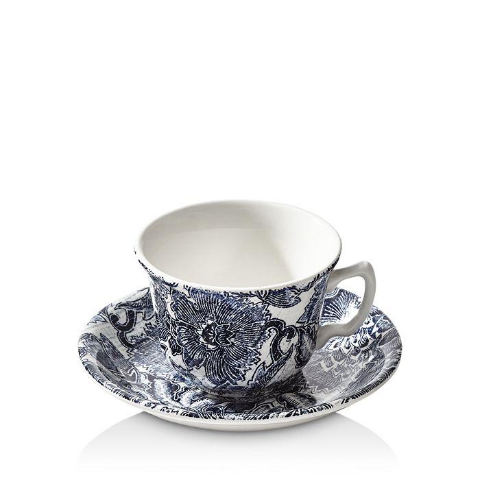 Ralph Lauren - Burleigh Faded Peony Tea Cup & Saucer Set