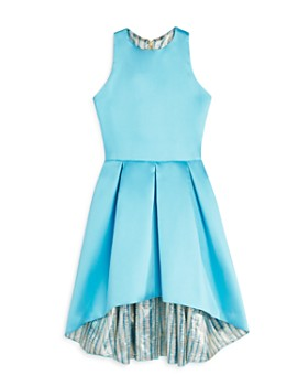 AQUA - Girls' High/Low Satin Dress, Big Kid - 100% Exclusive