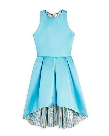 AQUA - Girls' High/Low Satin Dress, Big Kid - 100% Exclusive