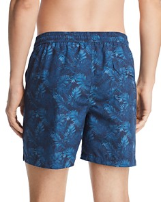 Barbour - Tropical-Print Swim Shorts