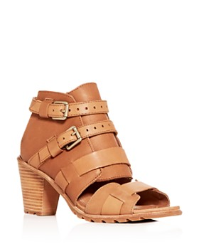 Sorel - Women's Nadia Buckled High-Heel Sandals