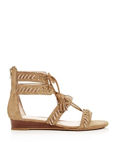 COACH - Women's Via Demi-Wedge Sandals