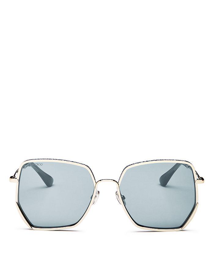 d09e20db8619 Jimmy Choo Women's Aline Square Sunglasses, 58mm | Bloomingdale's