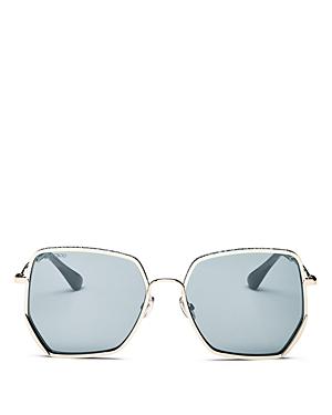 Jimmy Choo Women\\\'s Aline Square Sunglasses, 58mm-Jewelry & Accessories