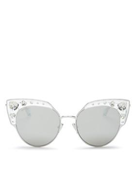 133826ac750 Jimmy Choo - Women s Audrey Mirrored Cat Eye Sunglasses