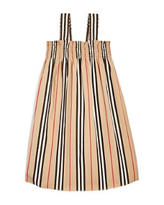 Burberry - Girls' Junia Icon Stripe Dress - Little Kid, Big Kid