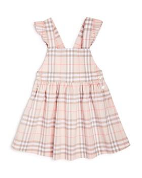 Burberry - Girls' Ruffle Check Dress - Little Kid, Big Kid