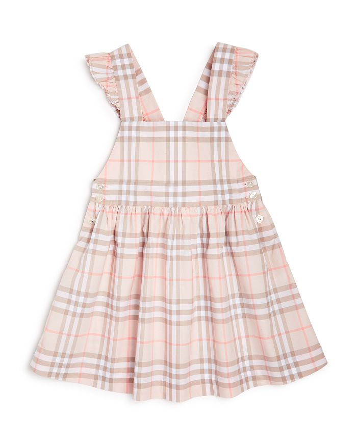 Burberry - Girls' Ruffle Check Dress - Little Kid, Big Kid