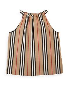 Burberry - Girls' Harper Icon Stripe Blouse - Big Kid
