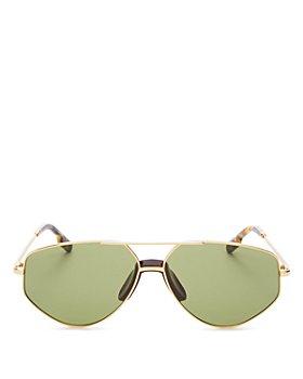 Kenzo - Women's Brow Bar Aviator Sunglasses, 61mm