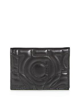 Salvatore Ferragamo - Quilted Leather Bi-Fold Wallet