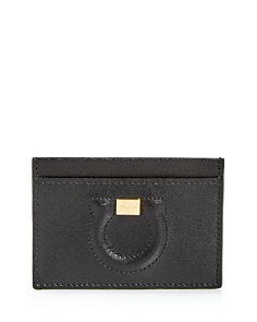 Salvatore Ferragamo - City Leather Card Case