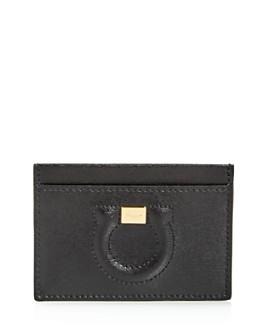 Salvatore Ferragamo - City Leather Card Case