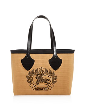 277cb0f75315 Burberry - Woven Logo Large Tote ...
