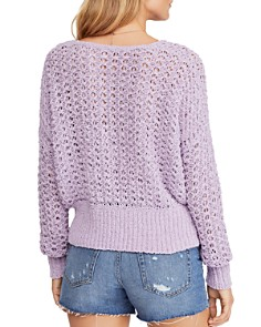 Free People - Best Of You Crochet Sweater