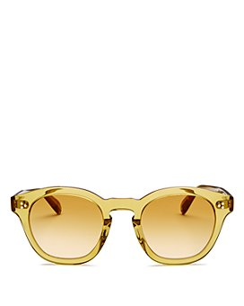 Oliver Peoples - Women's Boudreau Round Sunglasses, 48mm
