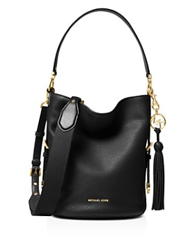2620236ea27c MICHAEL Michael Kors - Brooke Medium Leather Bucket Bag ...